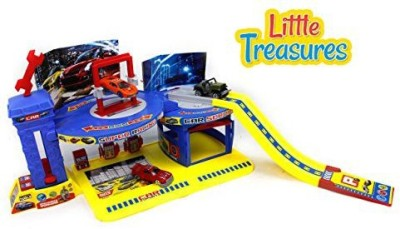 Little Treasures Auto Repair Playset Toy For Kids Educational Playtime