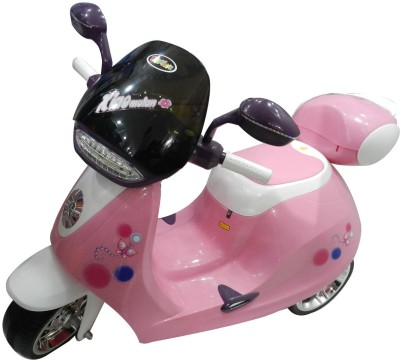 FunOKart Child Girl Battery Operated Scooty