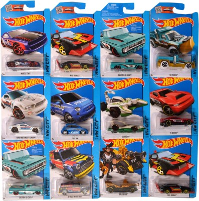 Hot Wheels 2015 Fall Editions, City Models Set Of Dozen