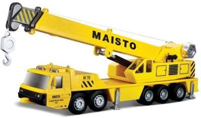 Maisto Truck Line Construction Crane