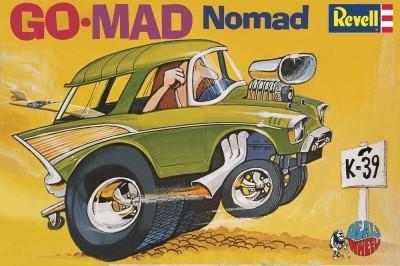 Revell-Monogram Dave Deal's Go-Mad Nomad Model Kit