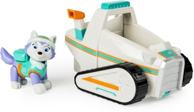 Paw Patrol Everest's Rescue Snowmobile, Vehicle and Figure (works with Patroller)