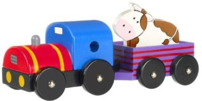 Orange Tree Toys First Tractor and Trailer