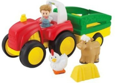 Fisher-Price Little People Tow ,n Pull Tractor