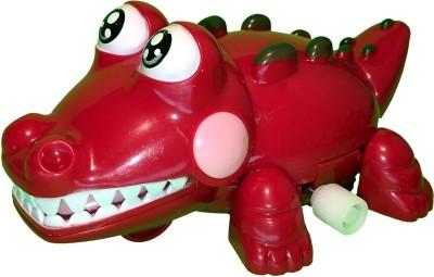 Mamaboo Wind-Up Crocodile Crocs - Red