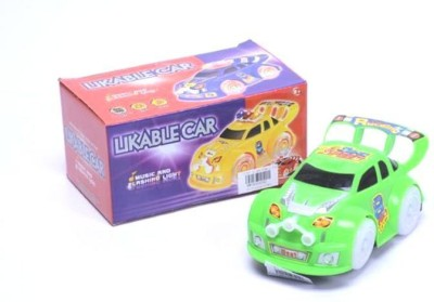 Turban Toys Battery Operated Musical Likable car