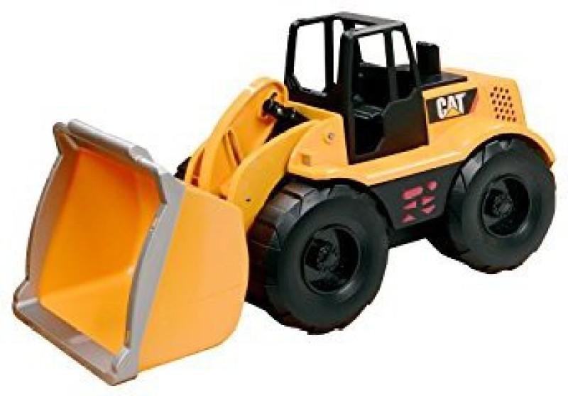 Toystate State Caterpillar Construction Job Site Machines Wheel(Orange)