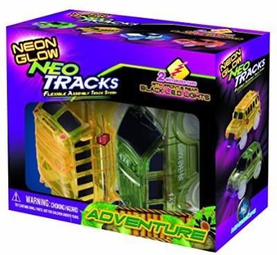 Mindscope Neon Glow Twister Tracks Neo Tracks Light Up