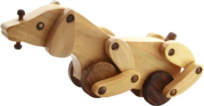 Montstar Wooden Dog Toy