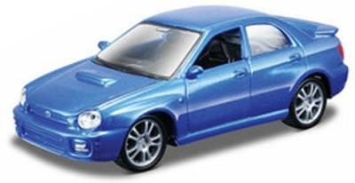Maisto Maisto Power Kruzerz 4.5 inch Pull Back Action - Subaru Impreza WRX Diecast Model Car