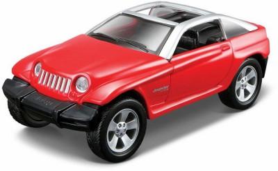Maisto Maisto Power Kruzerz 4.5 inch Pull Back Action - Jeep Jeepster Diecast Model Car