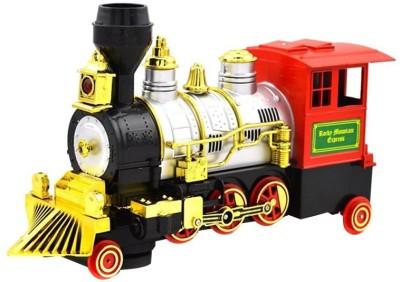 Turban Toys Rocky Mountain Locomotive With Light, Sound & Smoke