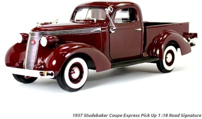 Road Signature 1937 Studebaker Coupe Express Pick Up 1:18 Yatming