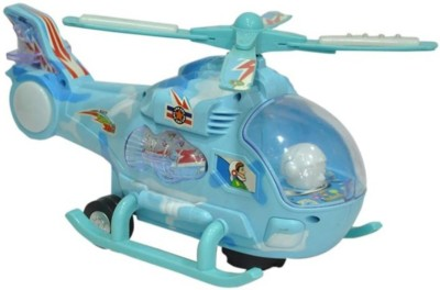 Khareedi Helicopter with Led Lights on Wings and music for Kids