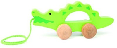 Hape E0907 Push & Pull - Crocodile Toy