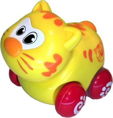 Mamaboo Push n Pull Animals - Cat