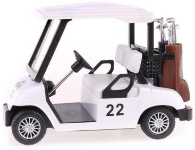 Mayatra's Golf Cart Superior Car Die Cast Model With Pull Back Function(Multicolor)