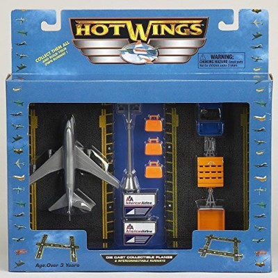 Hot Wings Planes Hot Wings Airport Playset