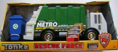 Hasbro Tonka Rescue Forcelights And Sounds Garbage Truck