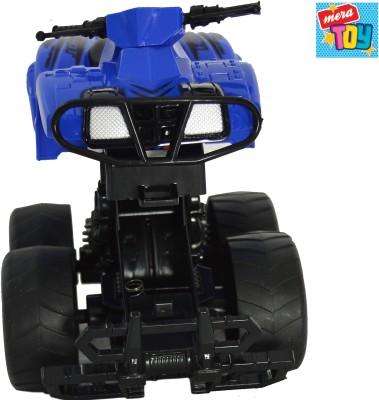 Mera Toy shop Bump Inertia Car-Blue