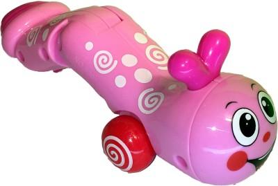 Mamaboo Wind-Up Earthworm - Pink