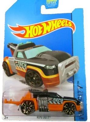 Mattel Hot Wheels 2014 Hw City 1/250 Hw City Works Repo Duty