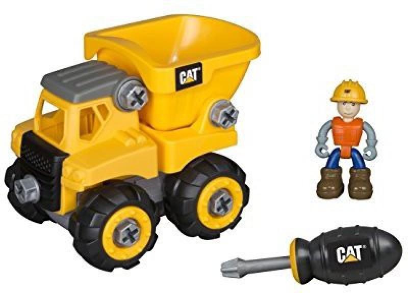 Toystate Caterpillar Cat Junior Operator Dump Truck Construction Vehicle(Multicolor)