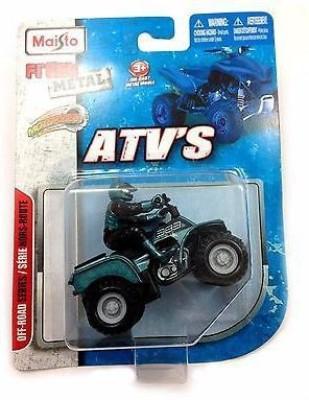 Maisto Maisto Atv,S Fresh Metal Pull-Back Motor Die-Cast Vehicle-Grey