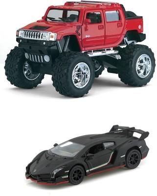 Kinsmart Monster Hummer H2 And Lamborghini Veneno