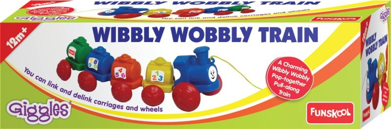 Funskool Wibbly Wobbly Train