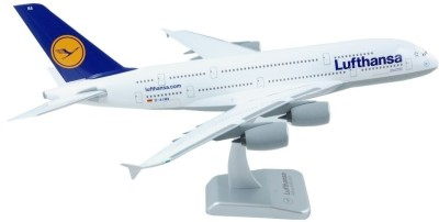 Hogan Wings Aircraft scale model, Airbus A380-800 Lufthansa Frankfurt am Main, Scale 1:200 (with Stand & without-gear)