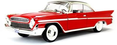 Road Signature 1961 Desoto Adventurer Red 1:18 Yatming