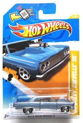 Mattel 2012 Hot Wheels New Models ,64 Chevy Chevelle Ss Grey 2/247