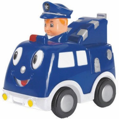 Simba Abc Press N Go Car Blue