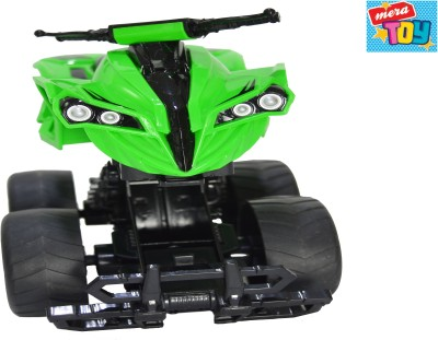 Mera Toy Shop Bump Inertia Car-Green