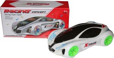 Scrazy 3D Light Super Speed Racing Car