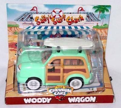 Chevron Car Woody Wagon