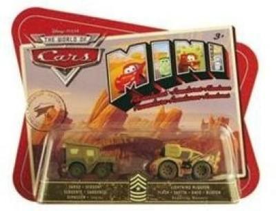 Mattel Disney Pixar The World Of Cars Mini Adventures Sarge,S