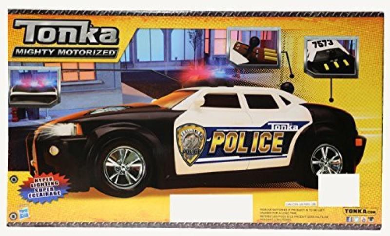 Funrise Tonka Mighty Motorized Police Cruiser -(Black)