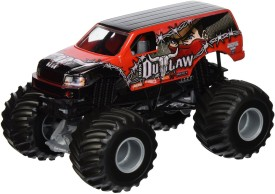 Hot Wheels Monster Jam Iron Outlaw(Red)