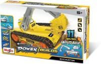 Maisto Maisto Power Builds, Excavator Assembly Line Yellow(Yellow)