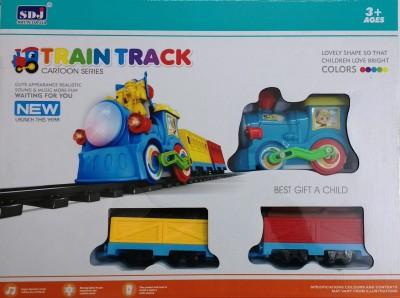 Jaibros Cartoon Series Track Train Set