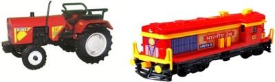 A R ENTERPRISES 2 pack combo trector with locomotive enguine