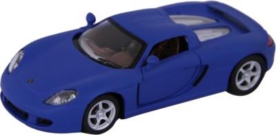 A2B Kinsmart Die-Cast Metal Matte Porsche Carrera Gt (Blue)