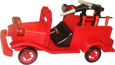 ZoneMart Wooden Fire Engine