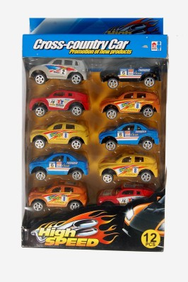 Dinoimpex Racing Car Set with Back Action