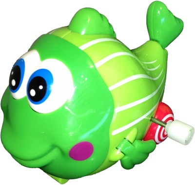 Mamaboo Wind-Up Fish - Green/Lime