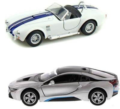 i-gadgets Kinsmart Shelby Cobra and BMW i8 S