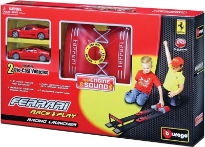 Bburago Ferrari Race & Play Racing Launcher