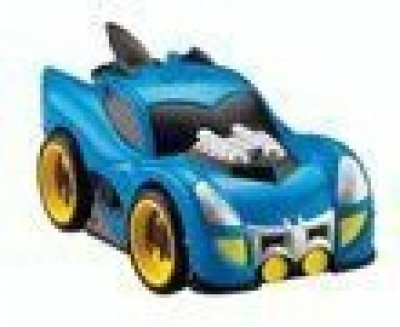Fisher-Price Marvel Shake N Go Blue Zoom Batman Batmobile Fisher Price(Blue)